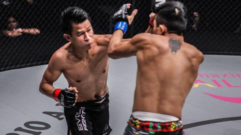 Combate de MMA de Sagetdao Petpaiyathai