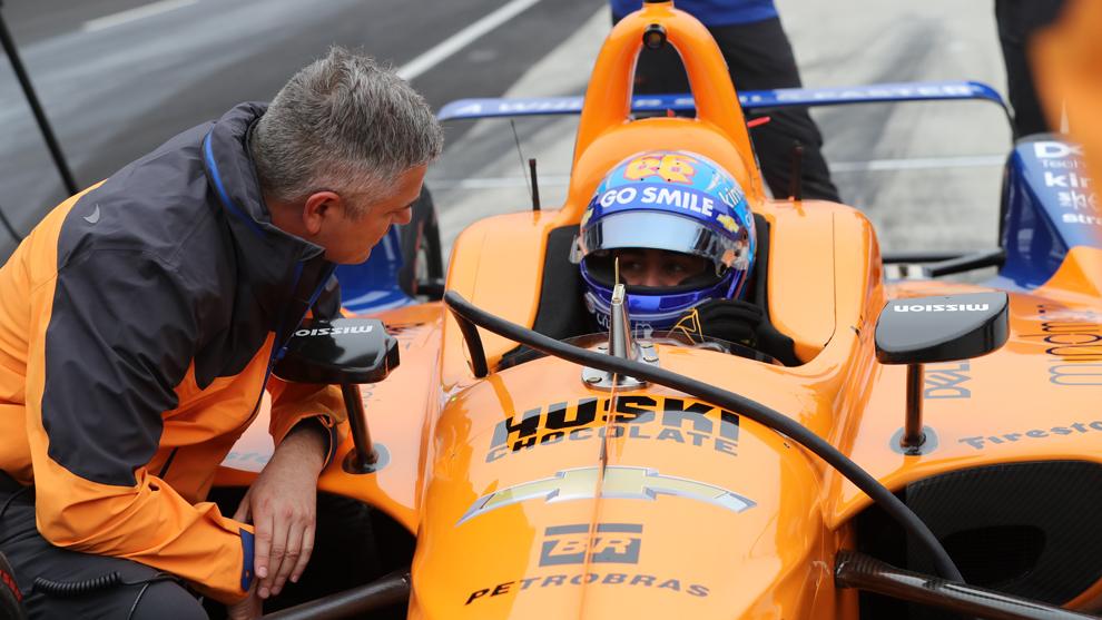 Gil de Ferran 500 Millas de Indianapolis 2019