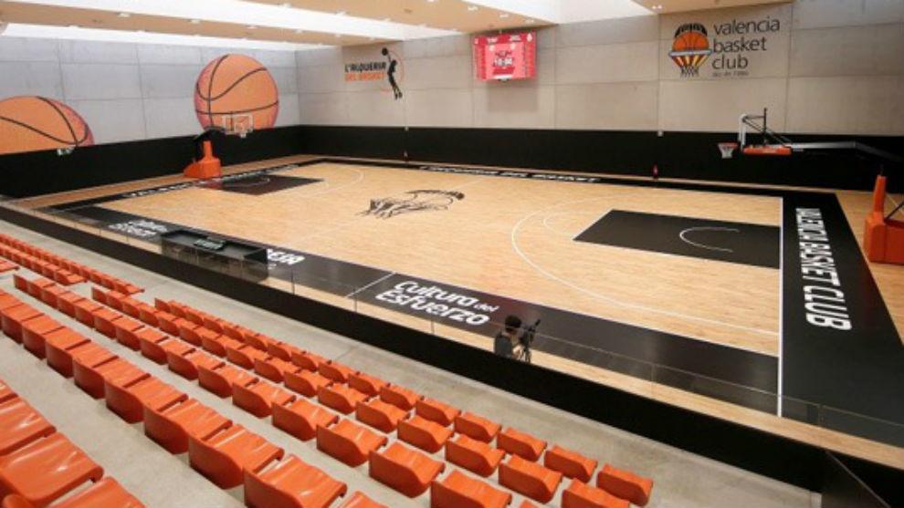 Una imagen de l'Alquería del Básket, la casa del baloncesto...