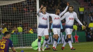 Imagen del Barcelona-Tottenham