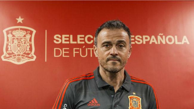 Luis Enrique, como seleccionador español.