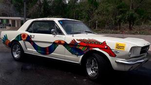 Auto del Rally Maya.