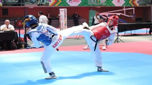 Daniela Souza se quedó cerca de la medalla de bronce