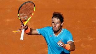 Rafael Nadal clasificó a la siguiente ronda de Roma