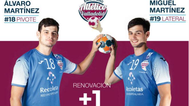 Cartel de renovación de los hermanos Álvaro y Miguel Martínez /