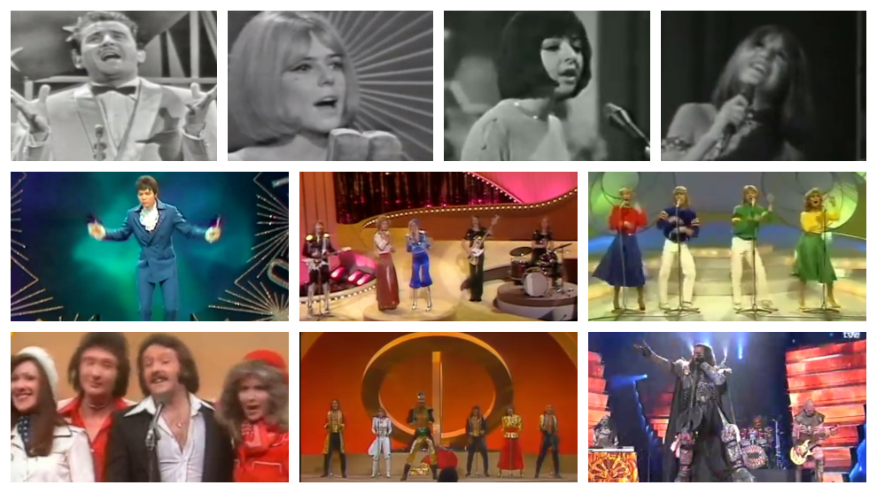 Las 11 mejores canciones de  la historia del Festival de Eurovisión