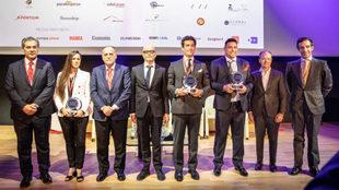 Gregorio García, Joana Pastrana, Javier Tebas, Alejandro Pintó,...