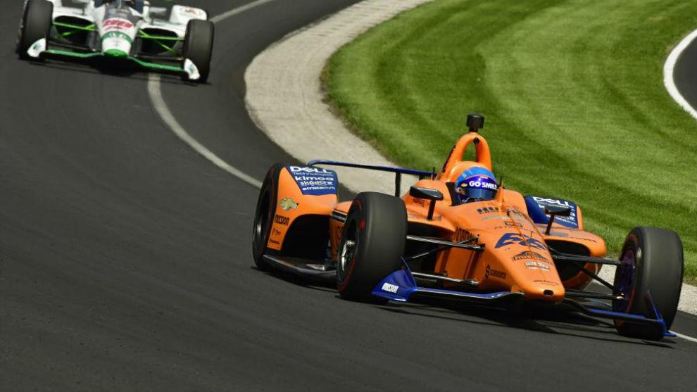 Indycar 500 Millas De Indianapolis Alonso Nuevo Coche Pero Aun
