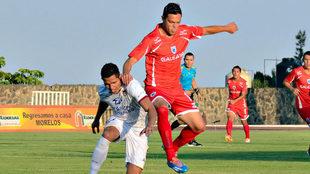 Landín en su etapa como jugador de Ballenas Galeana.