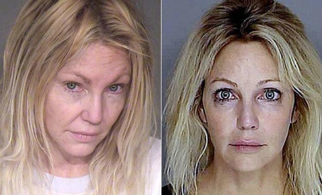 Heather Locklear. A sus 57 años ya ha pasado más de 20 veces por clínicas de desintoxicación por sus problemas con el alcohol y las pastillas.