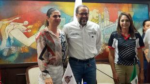 Ana Gabriela Guevara se encuentra en Colima.