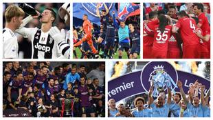 Los cinco campeones de las grandes Ligas europeas