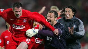 La heroica remontada del Liverpool.