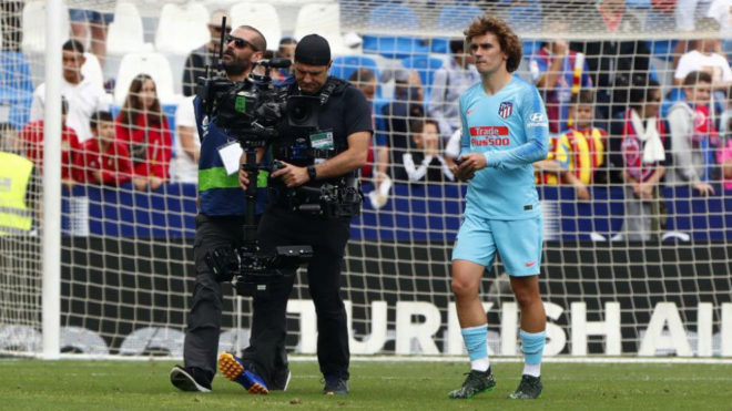Antoine Griezmann after the 2-2 draw at Levante on Saturday