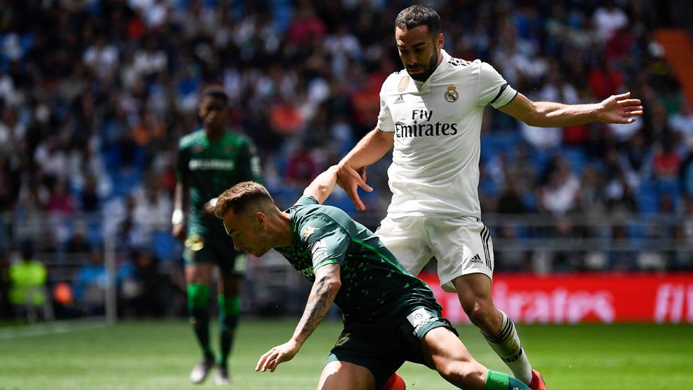 Carvajal se pierde el primer partido de la próxima Liga