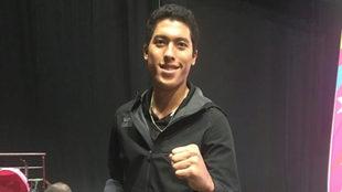 Carlos Sansores asegura medalla.