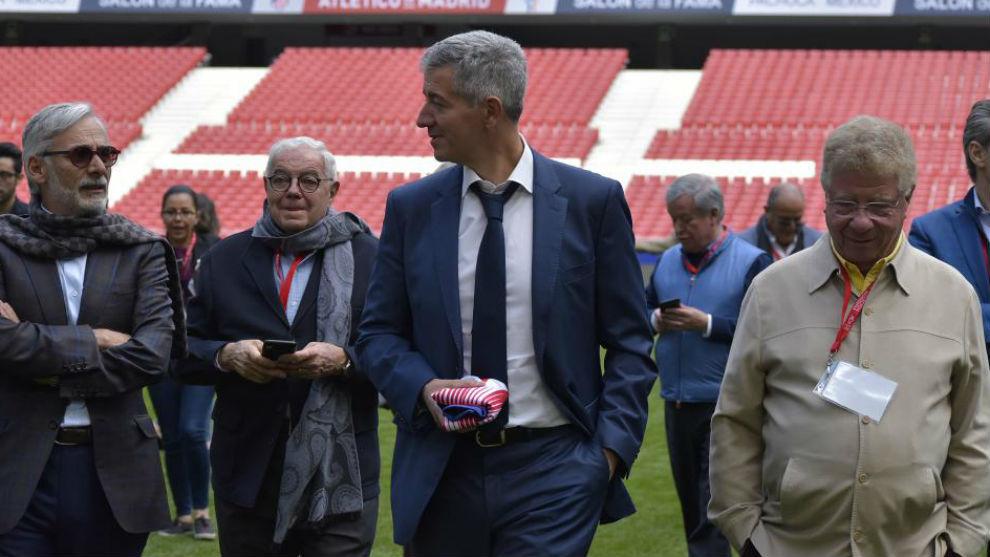 Gil Marín, en el Wanda Metropolitano.