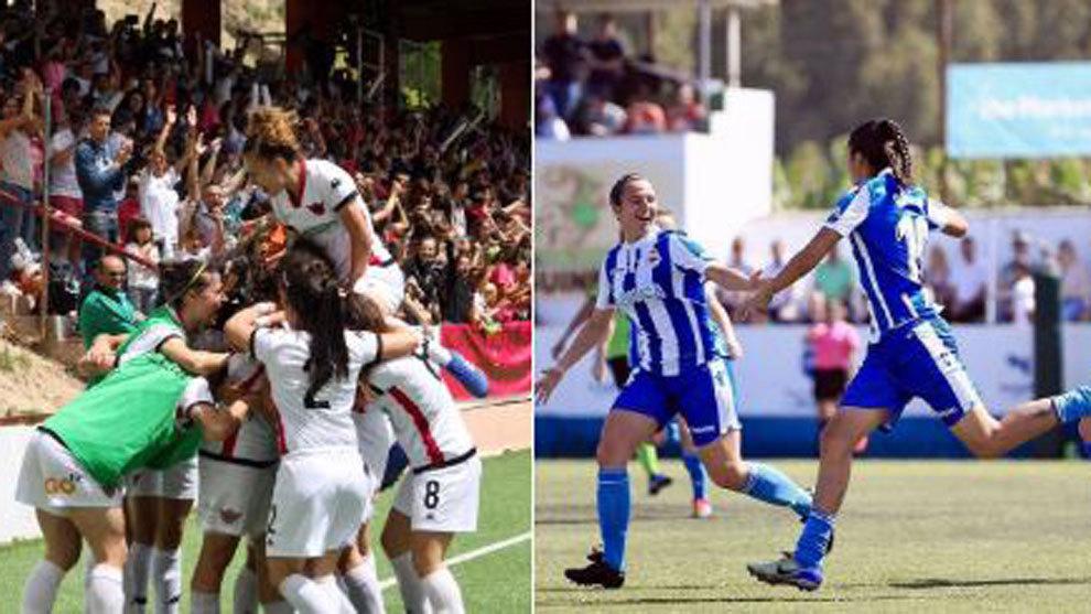 Liga Iberdrola Calendario.Futbol Femenino Deportivo Abanca Y Tacon Logran El Ascenso A La