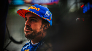 Fernando Alonso, eliminado de la Indy 500 2019.