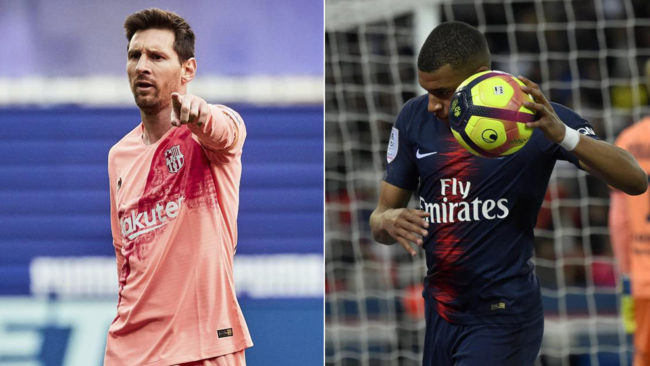 Messi y Mbappé pelean por la Bota de Oro