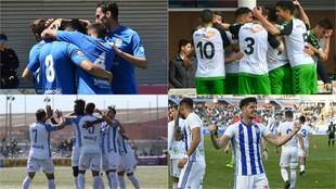 Fuenlabrada, Racing, Baleares y Recre son los campeones de Segunda B