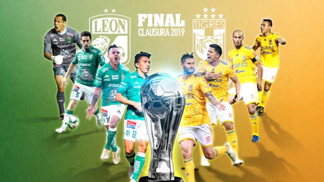 Final Liga MX: León vs Tigres, final inédita en el Clausura 2019 | MARCA  Claro México