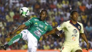 Andrés jugó con intensidad el partido del vuelta.