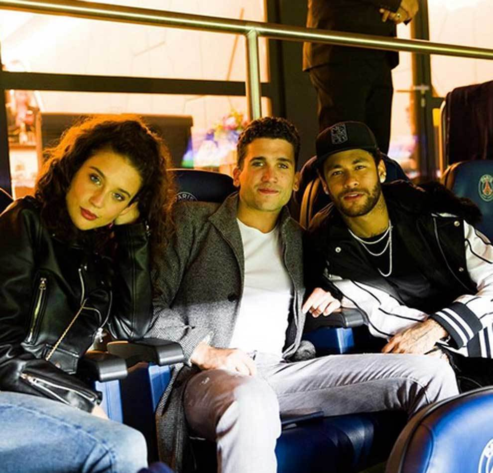 María Pedraza (Alison Parker), Jaime Lorente (Denver) y Neymar...