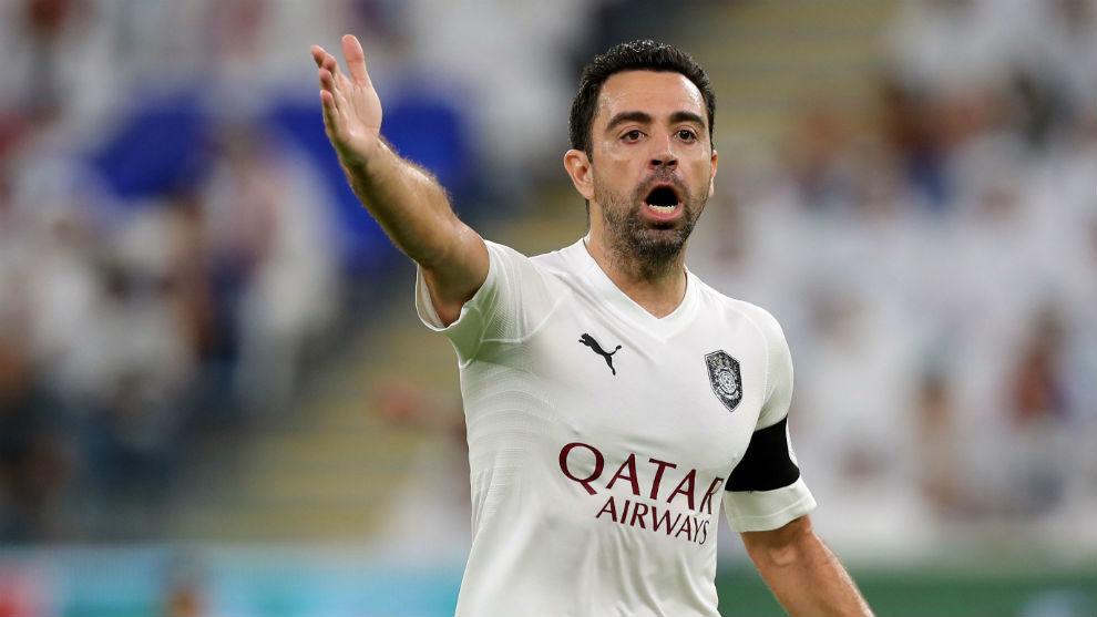 Xavi (39), capitán del Al Sadd.
