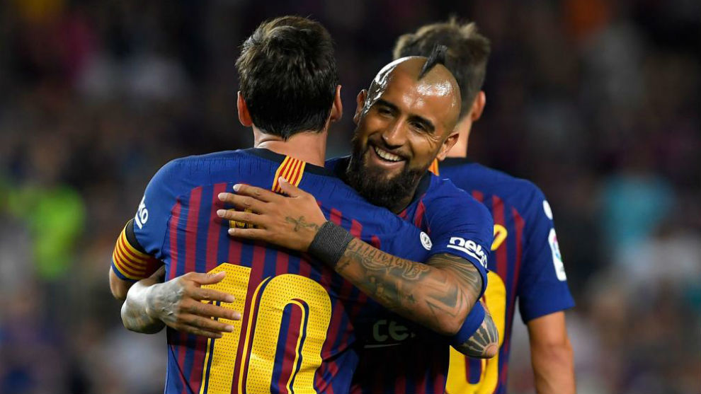 Barcelona: Arturo Vidal has become Messi's best partner | MARCA in English