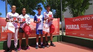 Campeones y finalistas del torneo MARCA Jóvenes Promesas de...