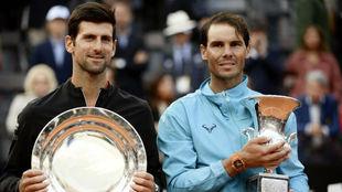 Djokovic y Nadal, en Roma