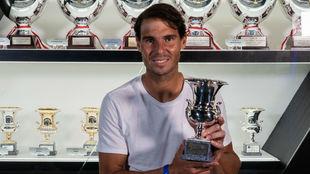 Nadal, con su noveno trofeo como campeón de Roma