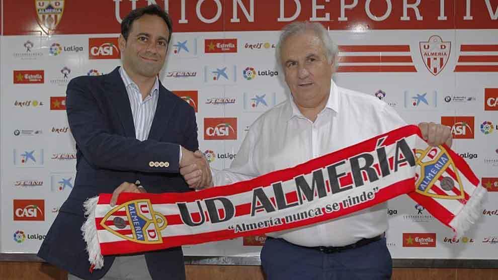 Fran Fernández y Alfonso García, el día de la presentación del...