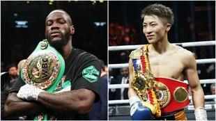 Wilder e Inoue.
