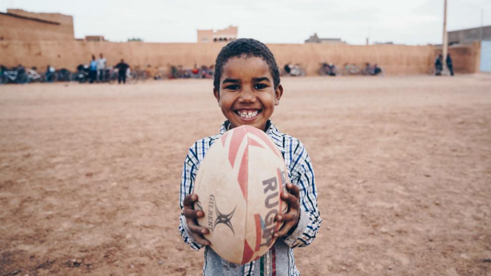 Imagen del primer documental del proyecto Rugby Libre.