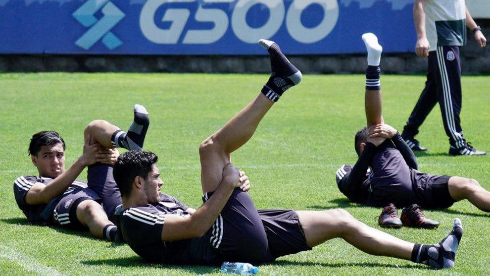 Resultado de imagen para entrenamiento seleccion mexicana copa oro