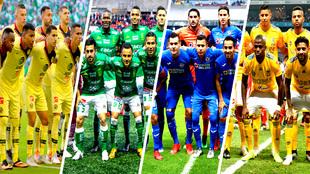 Serán los cuatro representantes mexicanos