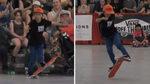 Ahora que el skate es olímpico... ¡preparen una medalla para este chaval de 10 años!