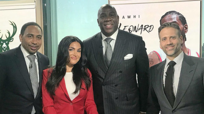 Magic Johnson salió de los Lakers por traición