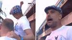 Guardiola se viene arriba con 'su' canción en la celebración del póker del Manchester City