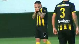 Giancarlo Maldonado no pudo contener las lágrimas