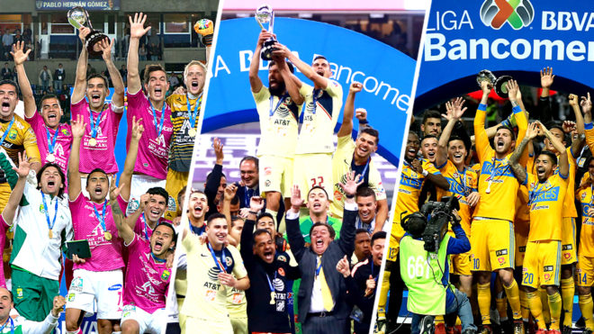 América, León o Tigres serán los campeones del año futbolístico.