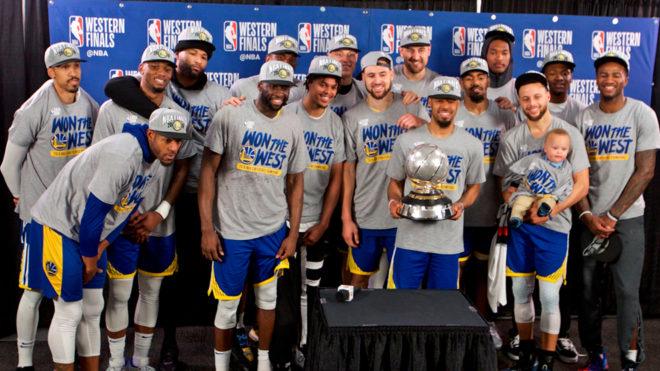 Resultado de imagen para Warriors finales campeones del oeste 2019