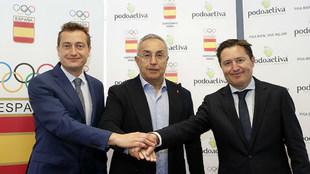 Alejandro Blanco y Víctor y Javier Alfaro sellan el acuerdo