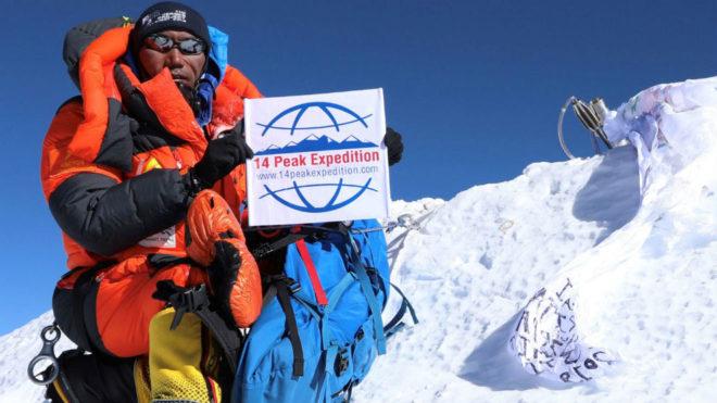 Kami Rita, en el Everest