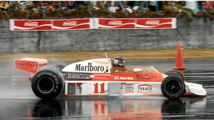 Niki Lauda, en el Gran Premio de Japón de 1976