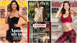 Muguruza, en las portadas de revistas deportivas y de moda