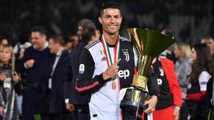 Nuevo diseño de la Juventus para la temporada 2019-20.