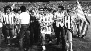El Valladolid ganó la Copa de la Liga con Adidas en la 83-84.
